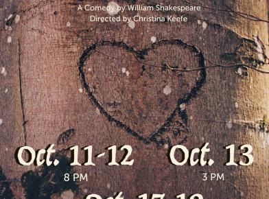 """As You Like It"" a comedy by William Shakespeare"