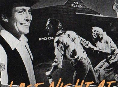 CANCELED: 'Last Night at the Alamo' 35mm film screening