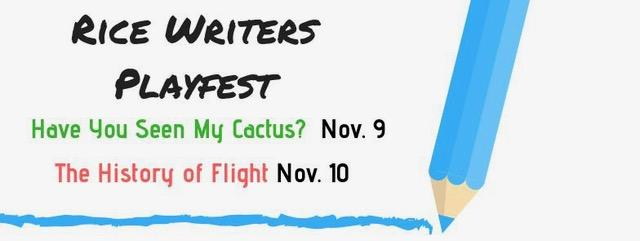 Rice Writers Playfest