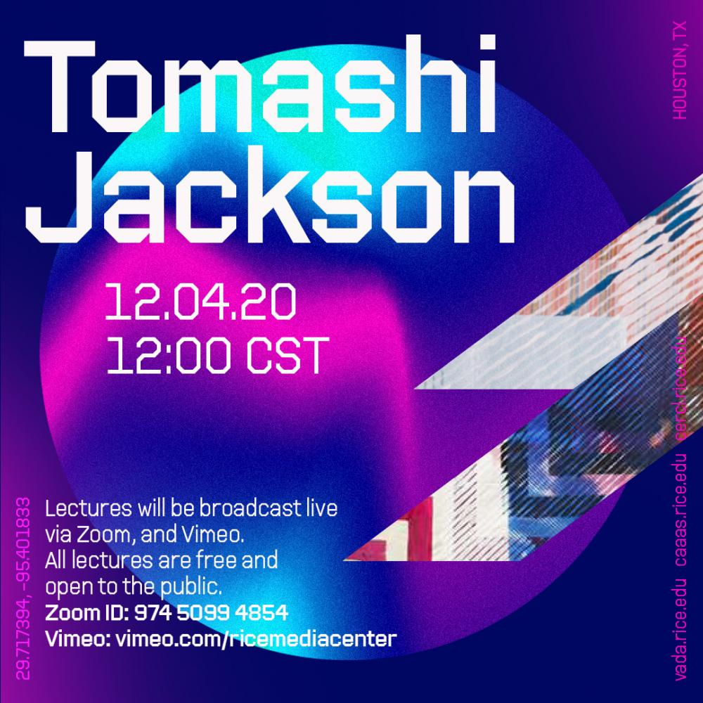 Visiting Artist Lecture Series with Tomashi Jackson