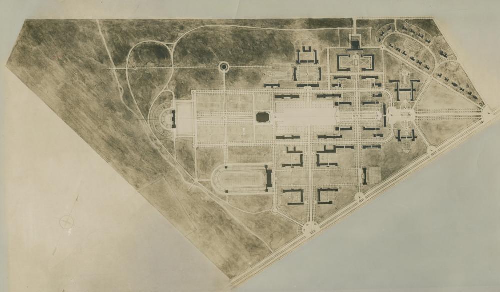 Rice Institute Master Plan, 1910.